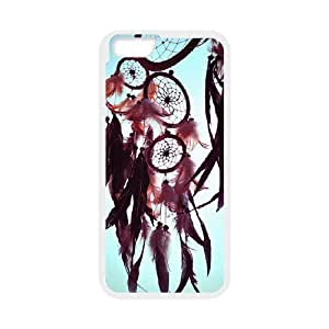 LJF phone case C-EUR Print Dream Catcher Pattern Hard Case for iphone 5/5s