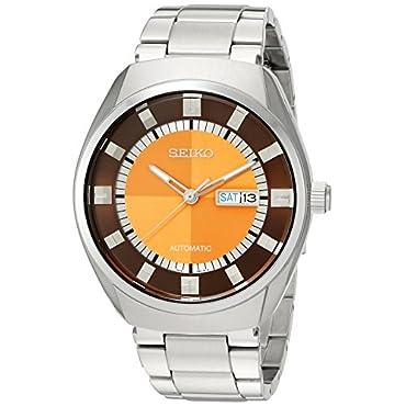 Seiko SNKN75 Recraft Series Orange Dial Men's Watch