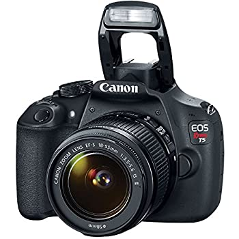 Canon Eos Rebel T5 Digital Slr Camera Kit With Ef-s 18-55mm Is Ii Lens 6