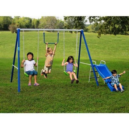 metal-swing-sets-with-slide-for-kids-2-12-yo-outdoor-fun-play-backyard-playground-equipment-kit-on-s