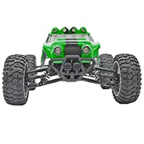 Tecesy Terrain RC Cars 1/12 Scale Electric RC Trucks 4WD Drift Car 2.4G Fast 25mph Waterproof RC Buggy Off Road Vehicle, with LED Lights (Army Green)