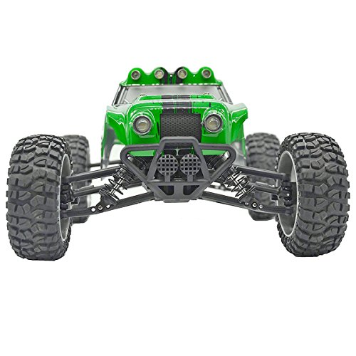 Tecesy Terrain RC Cars 1/12 Scale Electric RC Trucks 4WD Drift Car 2.4G Fast 25mph Waterproof RC Buggy Off Road Vehicle (Army Green) (Waterproof Cheap Rc Trucks)