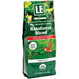Life Extension Rainforest Ground Coffee, Natural Vanilla, 12 Ounce