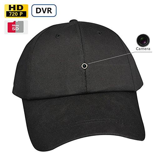 Fuvision 8GB New Video Recording Cap Hidden Camera Hat Ca...
