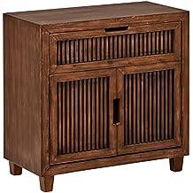 "Stone & Beam Fremont 2-Door Cabinet, 31.5"" W, Ash"