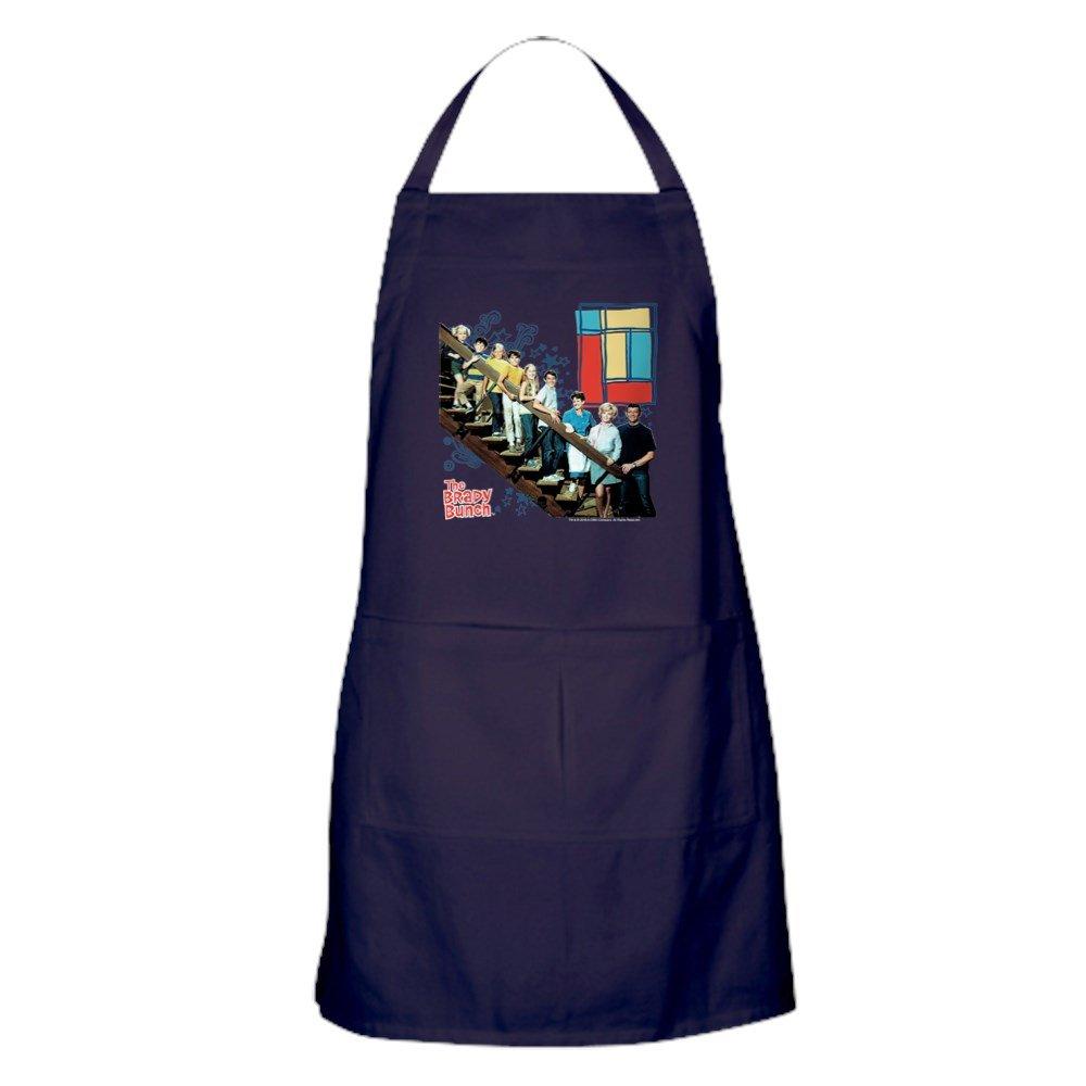 CafePress - The Brady Bunch: 階段の絵 - キッチンエプロン ポケット付き グリルエプロン ベーキングエプロン   B077PJZ4GY