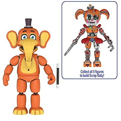 Five Nights at Freddy's: Pizza Simulator Orville Elephant 5-Inch Action Figure: Toys & Games