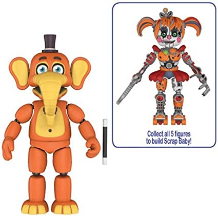 Five Nights at Freddys: Pizza Simulator Orville Elephant 5-Inch Action Figure