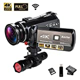 Best high zoom camcorder - 4K Wifi Full Spectrum Camcorders, Ultra HD Infrared Review