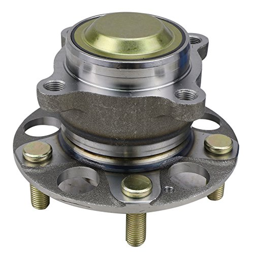 CRS NT930856 New Wheel Bearing Hub Assembly, Rear Left (Driver)/ Right (Passenger),for 2013-2015 Honda Accord, w/o ABS