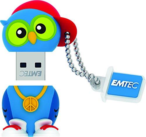 Emtec Forest USB 2.0 (8GB) Flash Drive (DJ Owl)