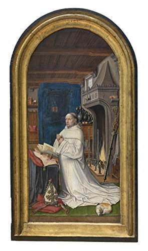 St Matthew Costume Ideas (The High Quality Polyster Canvas Of Oil Painting 'Abbot Christiaan De Hondt By The Master Of 1499' ,size: 20x34 Inch / 51x86 Cm ,this Cheap But High Quality Art Decorative Art Decorative Canvas Prints Is Fit For Foyer Decor And Home Artwork And Gifts)