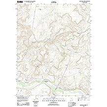 "Topographic Map Poster - MONTE CRISTO PEAK, UT TNM GEOPDF 7.5X7.5 GRID 24000-SCALE TM 2011 - 24""x19"""