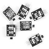 6pcs Hall Effect Magnetic Sensor Module 3144E A3144