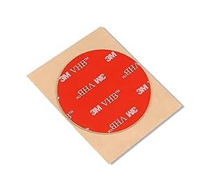 "3M VHB Tape 4991, 2"" Diameter in Circles (5/Pack)"