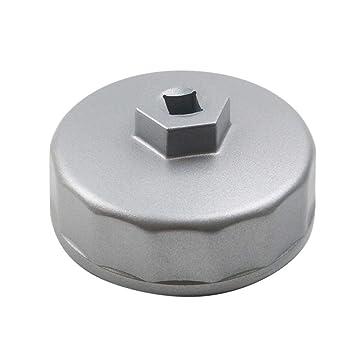 Llave para filtro de aceite Ibetter 74,2 mm para Volkswagen, Mercedes Benz,