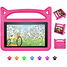 7 Case for Kids-Dinines Shockproof Protective Cover Case for All-New 7 inch Tablet (Compatible with 5th Generation 2015 / 7th Generation 2017)