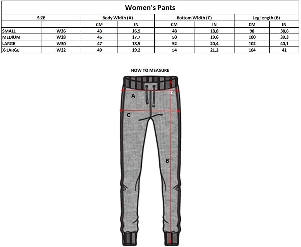 Champion Women's Classic C Logo Pants Black (Nbk)