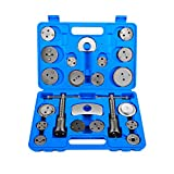 OrionMotorTech 22pcs Heavy Duty Disc Brake Piston Caliper Compressor Tool Set and Wind Back Kit for Brake Pad Replacement, Fits Most American, European, Japanese Models