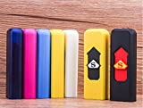 szsaichengmei USB charging lighter windproof USB Rechargeable No Flame Camouflage Lighter