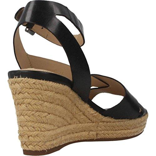 Sandalias y chanclas para mujer, color Negro , marca GEOX, modelo Sandalias Y Chanclas Para Mujer GEOX D SOLEIL Negro