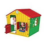 Galilee Village Playhouse, Realistic playhouse, Color: Yellow / Red