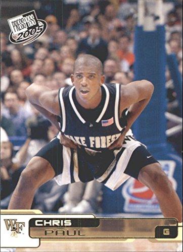 (2005 Press Pass Basketball Cards Gold #26 Chris Paul Wake Forest Demon Deacons)