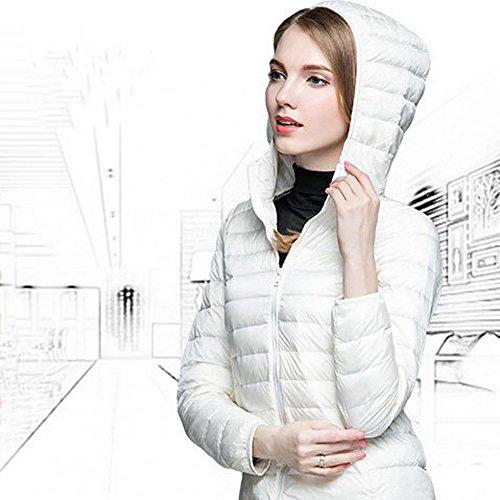 Hiver Doudoune Chaud Jacket Capuche Veste Femme Court Manteau Wenyujh Duvet Slim L Blouson avec en wt17nq