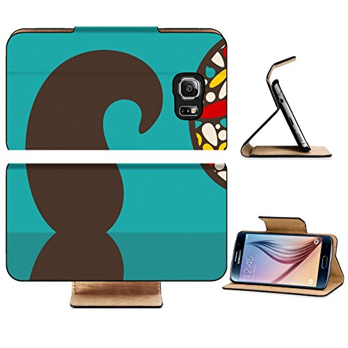 Luxlady Premium Samsung Galaxy S6 Edge Flip Pu Leather Wallet Case IMAGE 27331318 Retro sunglasses with reflection for - Spectacle Frames Modern