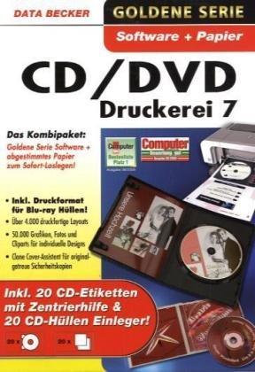 data becker cd dvd druckerei 7