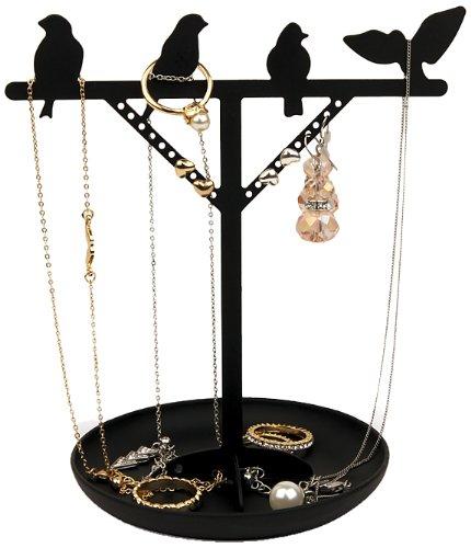 (Kikkerland Bird Jewelry Stand)