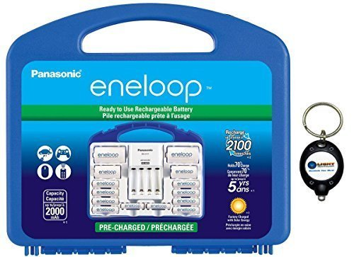 Panasonic Eneloop Power Pack 2100 cycle w/ 8x AA + 2x AAA + 2x