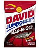 David Seeds Jumbo Sunflower Barbeque Flavor, 5.25-Ounce Bag (Pack of 12)