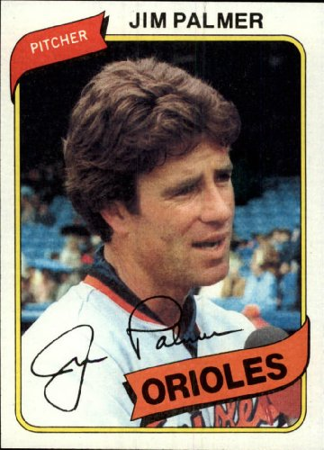 (1980 Topps Baseball Card #590 Jim Palmer)