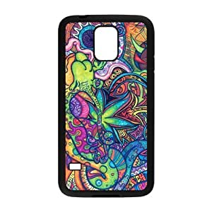 Trippy Samsung Galaxy S5 Case Rubber Back Fits Cover