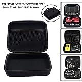 Pollyhb for RC Drone E58 / JY018 / JY019 Foldable RC FPV Drone Handbag Carrying Bag Box Bag