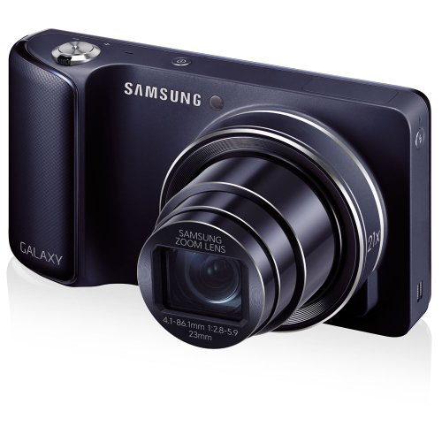 16.3 Mp Compact Camera - Samsung Galaxy Camera with Android Jelly Bean v4.2 OS, 16.3MP CMOS with 21x Optical  Zoom and 4.8