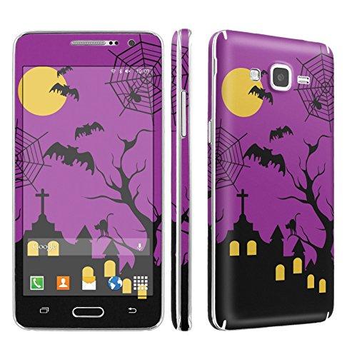 Galaxy [GRAND Prime] Phone Skin - [SkinGuardz] Full Body Scratch Proof Vinyl Decal Sticker with [WallPaper] ] - [Halloween] for Samsung Galaxy [GRAND Prime] G530]()
