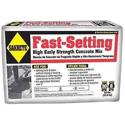 SAKRETE OF NORTH AMERICA 65305535 50 lb Fast Concrete Mix