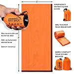 Emergency-Sleeping-Bag-Bivy-Sack-Rescue-Kit-Compact-Lightweight-Multi-Functional-Durable-Mylar-Shelter-Paracord-Drawstring-Ultralight-Life-Saving-Snow-Storm-Backpack-Car-Cabin-Boating-Home-Survival-3