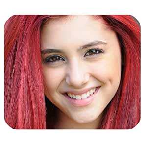 Ariana Grande Customized Standard Rectangle Mouse Pad Mouse Mat (Black)