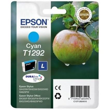 C13T12924010 Epson Stylus Office BX305F Cartucho de Tinta cian ...
