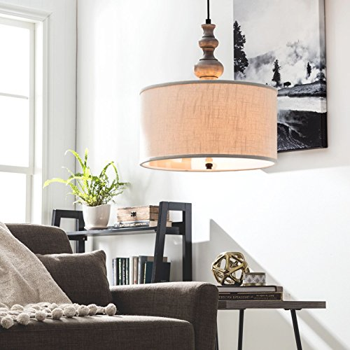 Extra Large Drum Pendant Light