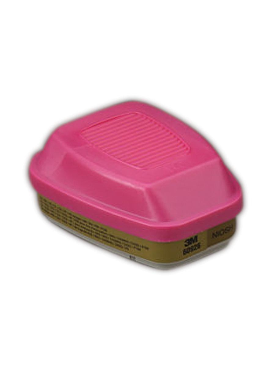 3M 50051138541878 Cartridge/Filter 60926, Multi Gas/Vapor/P100 (Pack of 2)