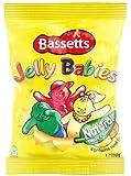 Bassett 'S S Jelly Babies 190G Bag X4