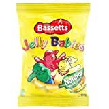 Bassetts Jelly Babies 190g Bag x2 by N/A