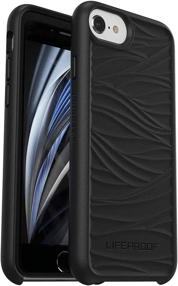 LifeProof Wake Series Case for iPhone SE (2020), iPhone 8, iPhone 7, iPhone 6s (NOT Plus) Non-Retail Packaging - Black