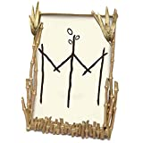 ''Bamboo'' 4x6 Frame by Michael Michaud for Silver Seasons Table Art