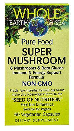 NATURAL FACTORS Wes Super Mushroom Blend, 60 CT