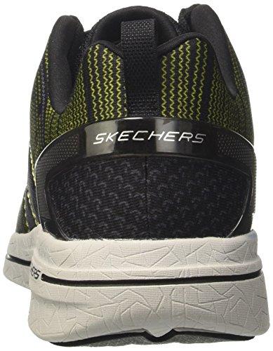 Skechers Herren Burst 2.0-in The Mix II Sneakers Schwarz (Bklm)